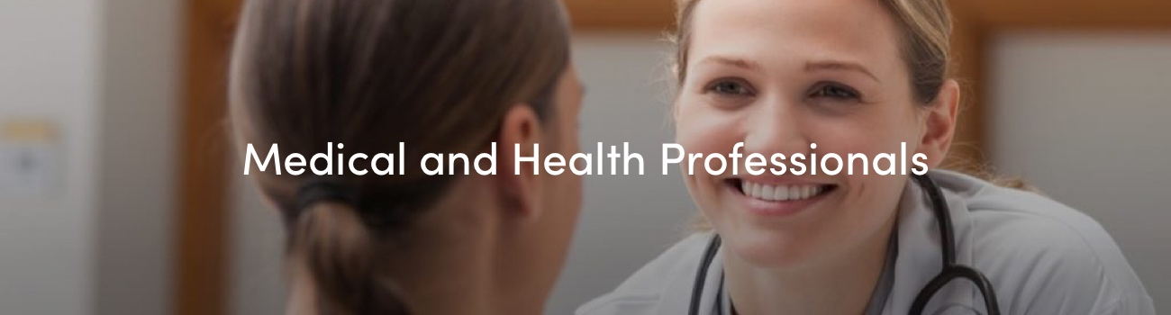 Health and Medical professionals Courses